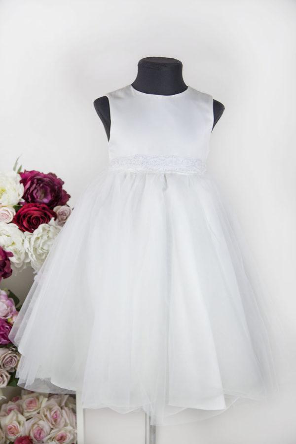 Robe pour enfant couleur blanc