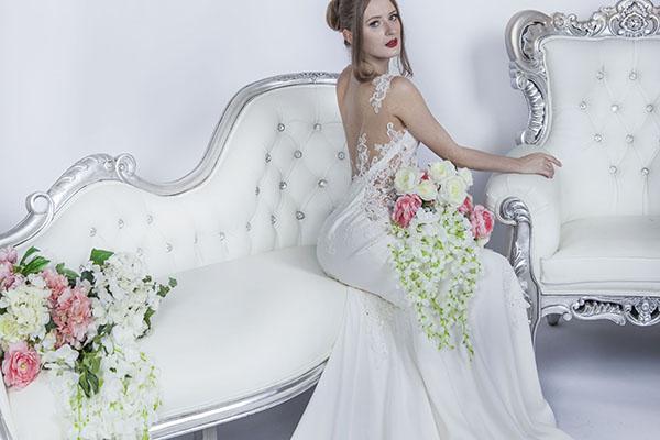 Robe de mariée avec voile Paris