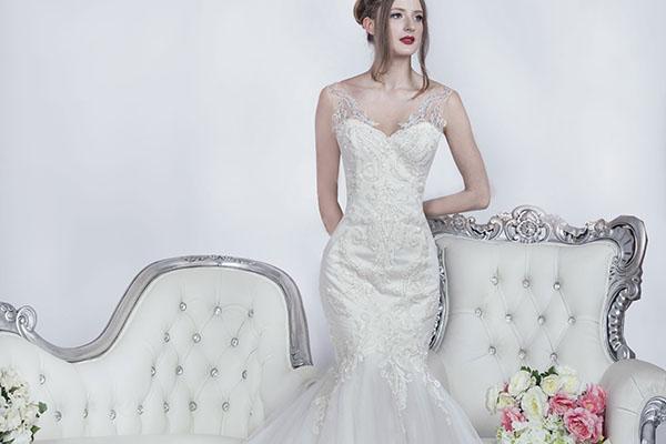 Robe de mariage princesse forme sirène sexy
