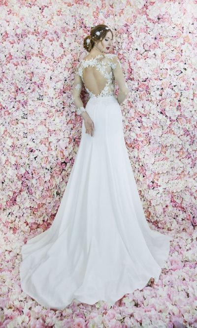 Robe de mariée sirène élégante mais sexy