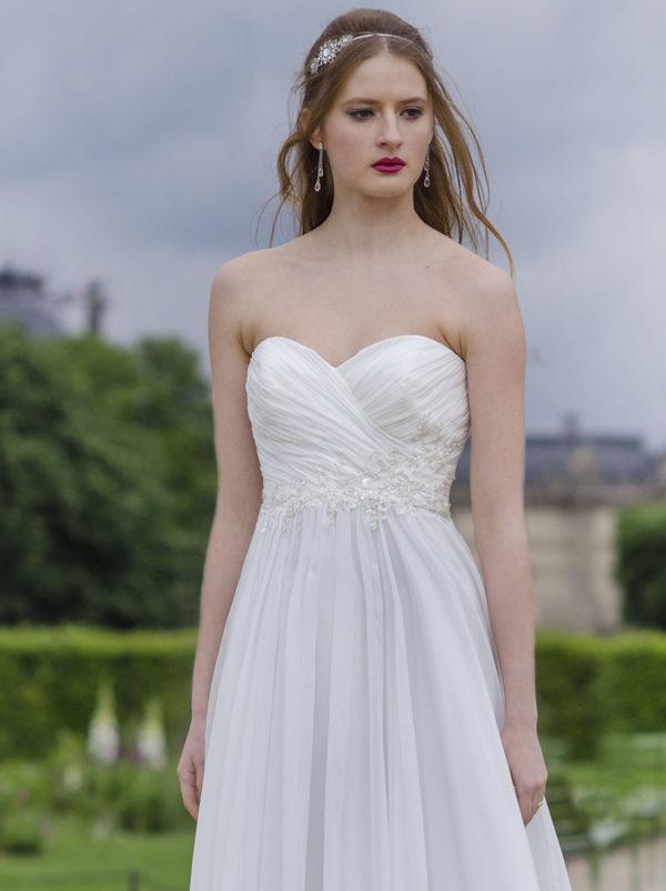 Robe de mariée taille empire Paris