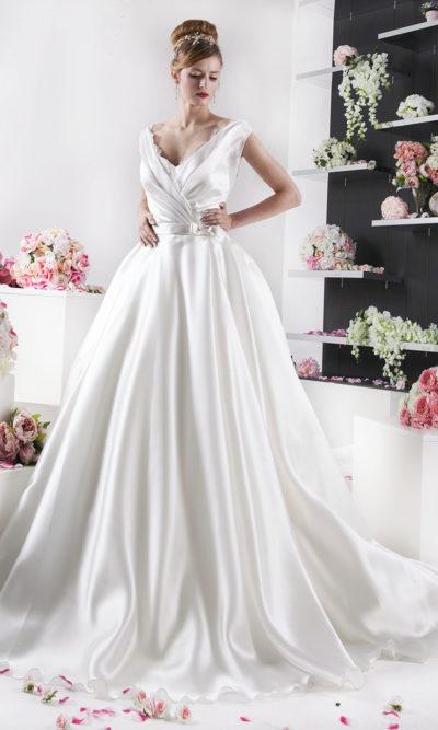 Robe de mariée grande taille princesse Paris
