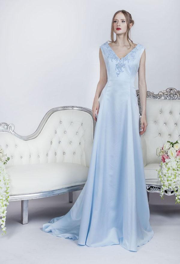 Robe de cocktail longue pour mariage invitée