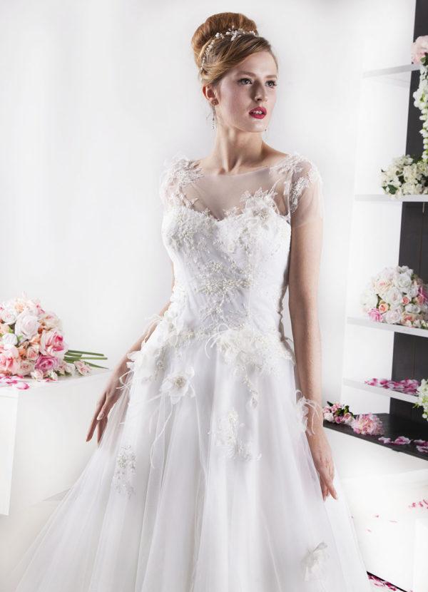 Robe de mariée Paris de style princesse