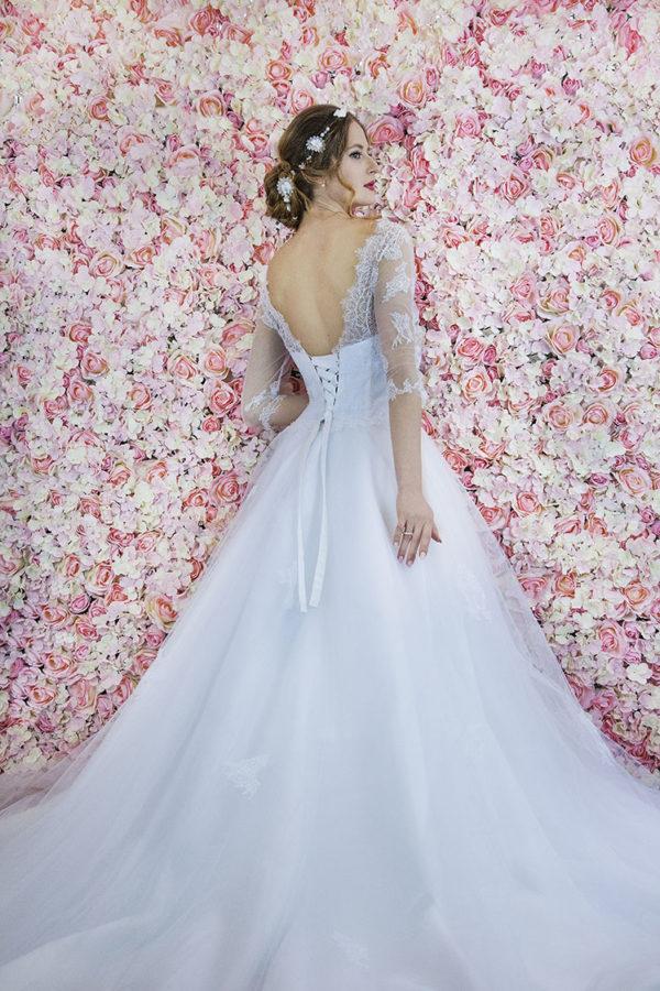 Robe de mariée élégante et noble