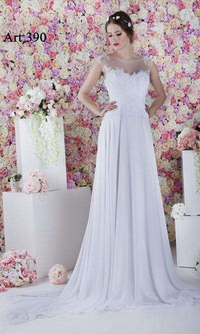 Grande taille de robe de mariée légère et