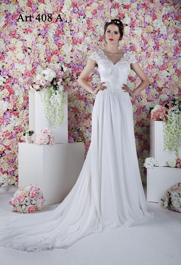 Robe de mariée sur mesure Paris bohème