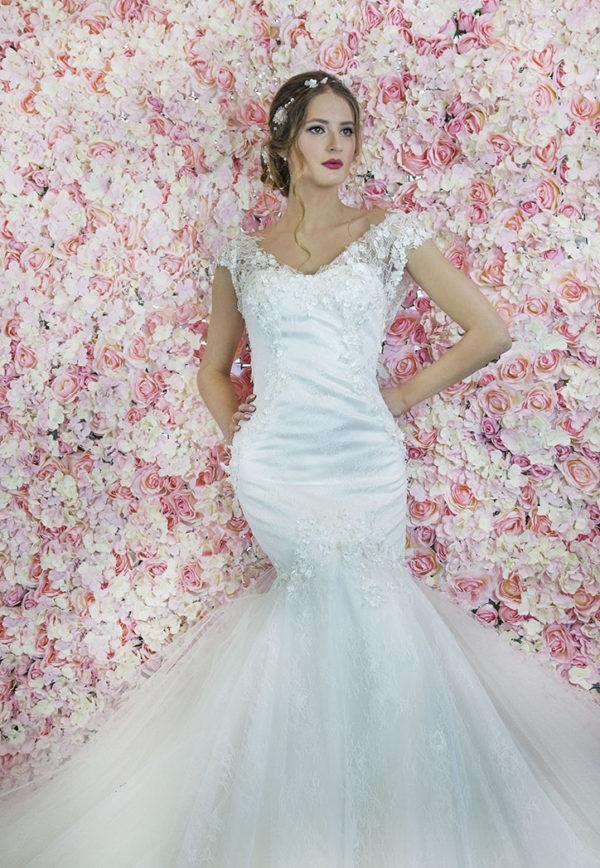 Robe de mariée sur mesure sirène sexy Paris