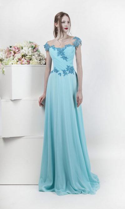 Robe de soirée empire témoin de mariage
