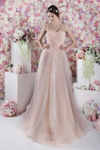 Cette robe de soirée convient parfaitement à des demoiselles d'honneur du fait de sa délicatesse