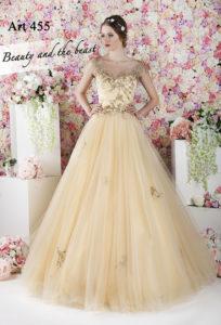 Une robe de soirée pour une vraie demoiselle d'honneur princesse