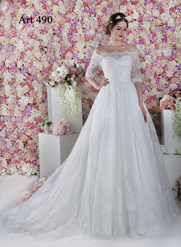 Robe de mariée Paris luxueuse décolleté coeur