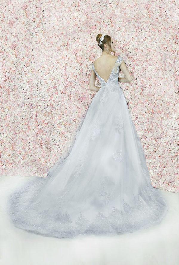Robe de mariée promotion à paris en dentelle
