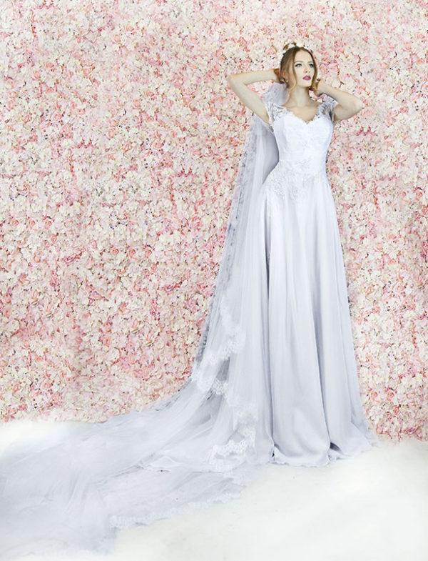 Robe de mariage accessoire voile de mariée