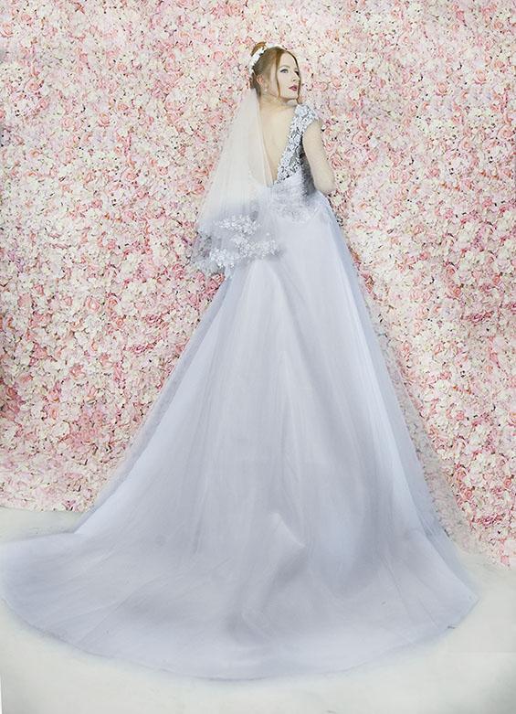 Robe de mariée élégante et belle pour une mariée chic