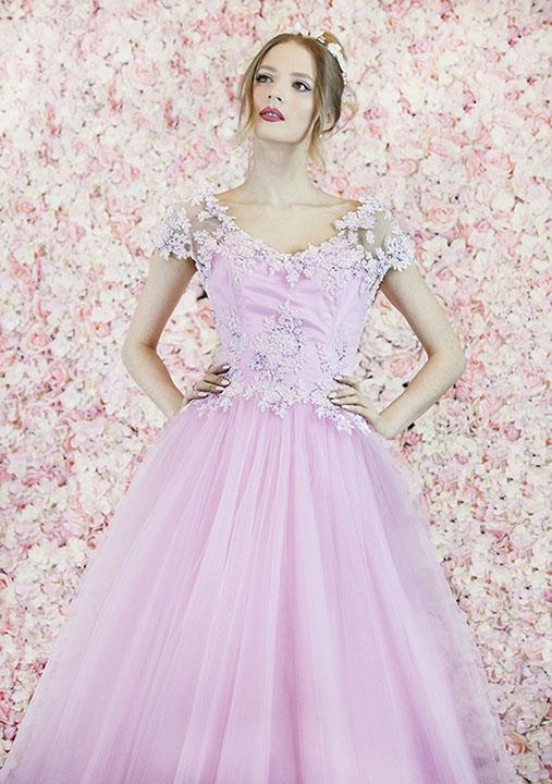 Robe de bal romantique pour un gala de princesse
