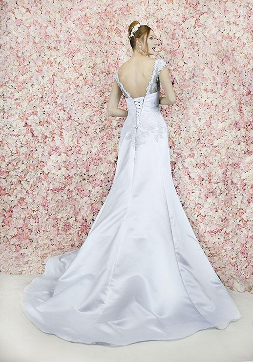 Robe de mariée raffinée grande taille chic