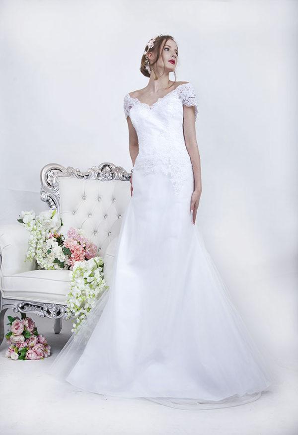 Robe de mariage blanche grande taille Paris