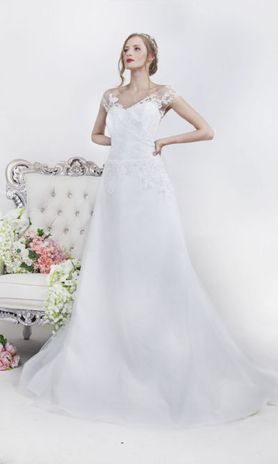 Robe de mariage en dentelle grande taille Paris