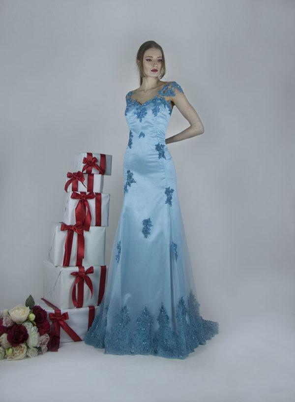 Robe de soirée pour mariage très chic et sophistiquée Paris