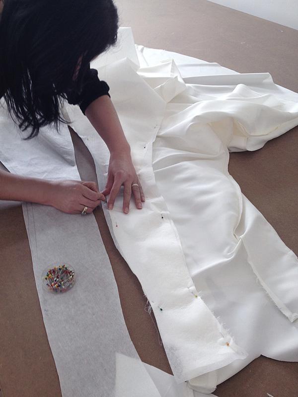créatrice robe de mariage sur mesure retouches