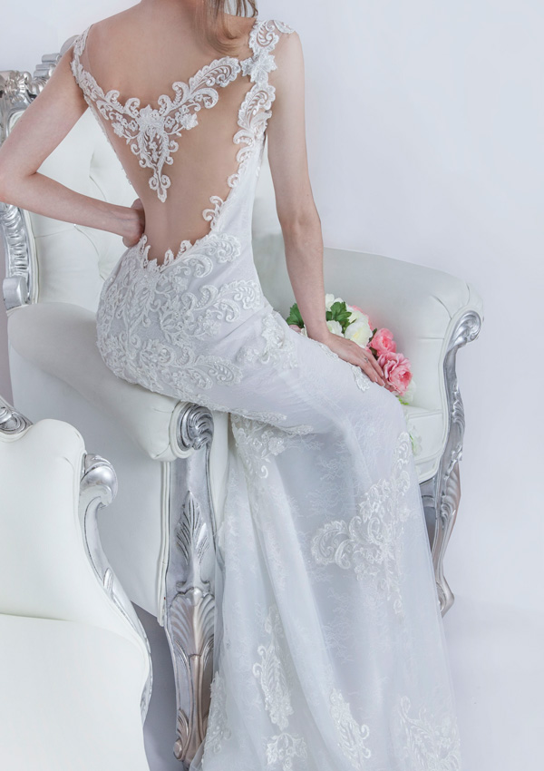 Robe de mariée créateur à Paris sur mesure