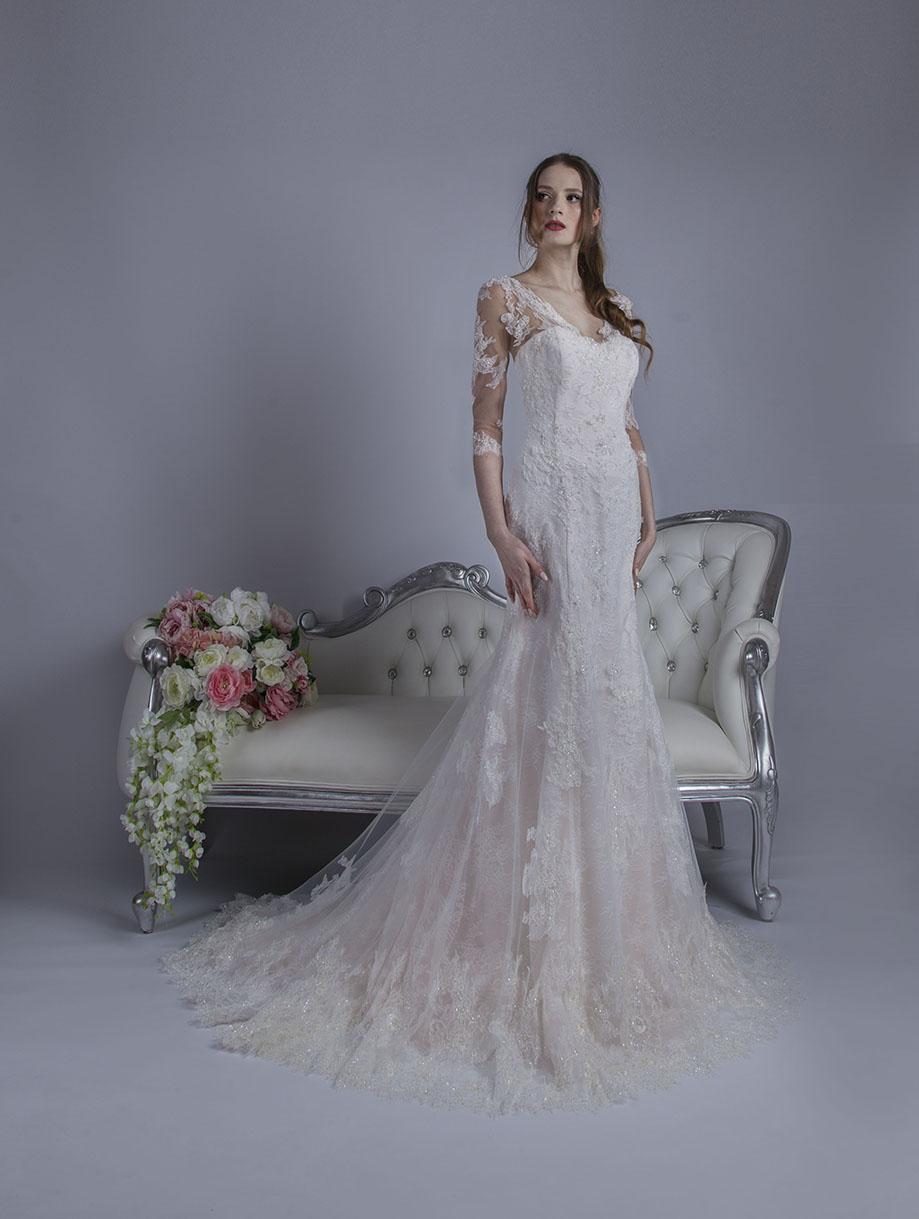 Robe de mariage Paris coupe sirène