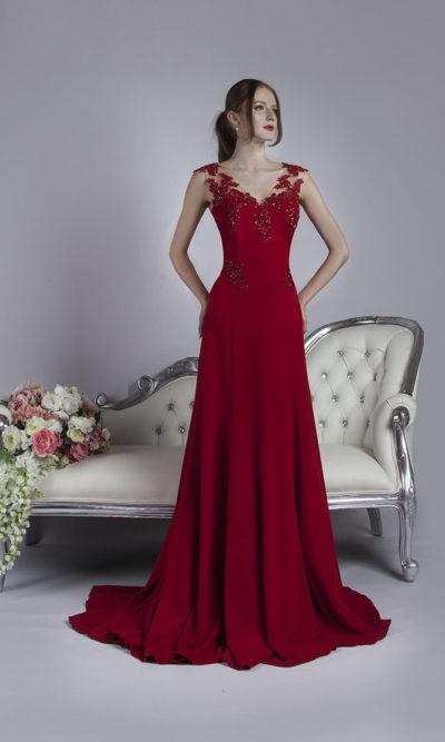 Robe de soirée sirène pour mariage ou bal