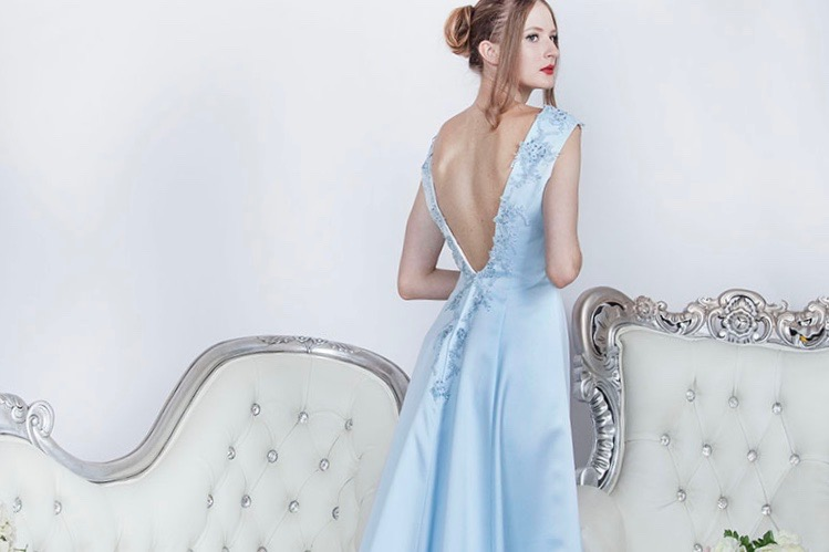 Une robe de soirée à Paris très élégante
