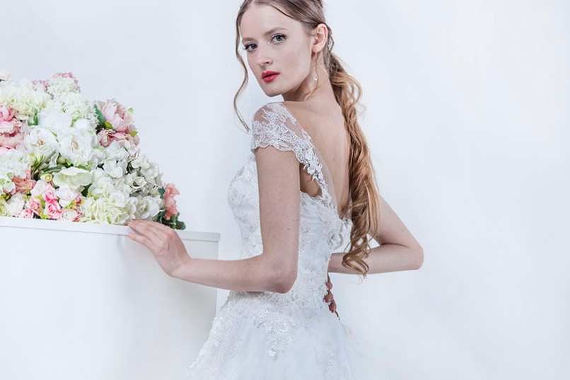Robe de mariée fabriquée en France