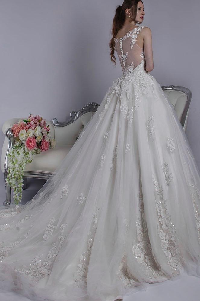 Robe de mariée exclusive pour une vraie princesse
