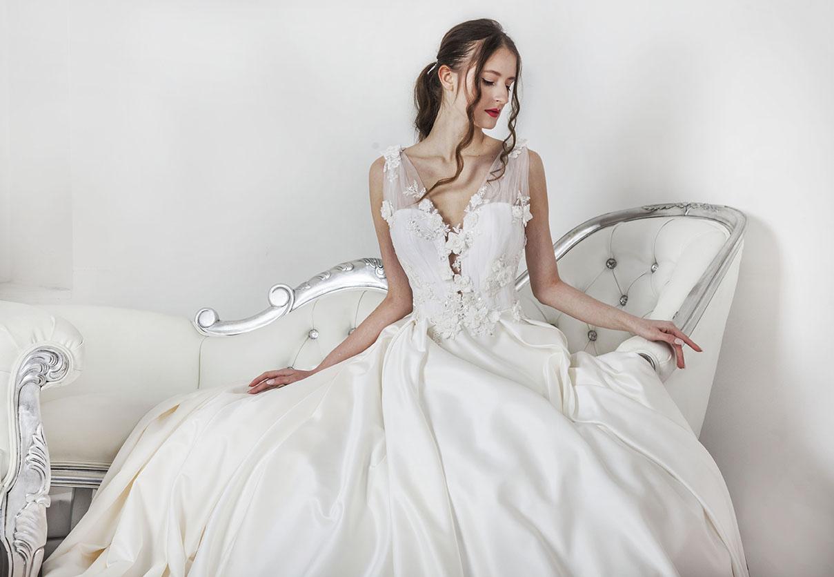 Robe de mariée féminine pour une vraie princesse
