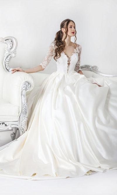 Robe de mariée vente boutique à Paris