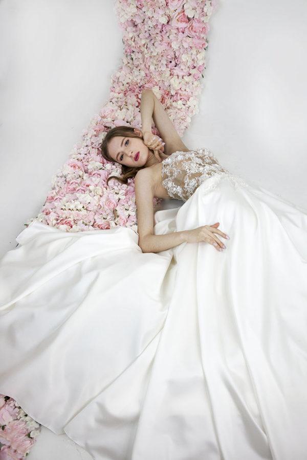 Robe de mariée moderne et chic