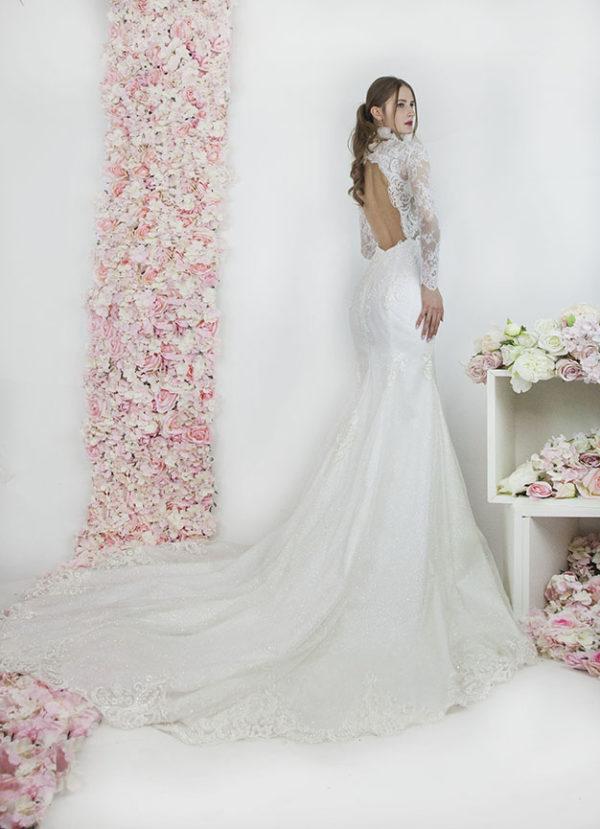 Robe de mariage sirène à Paris location