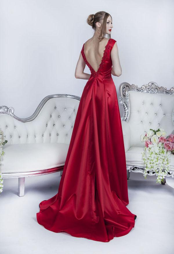 Robe de soirée pour mariage simple