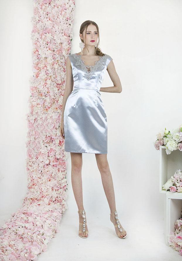 Robe de cocktail mini et sexy pour anniversaire