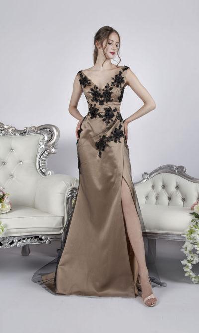 Robe de soirée sexy pour une vraie femme fatale