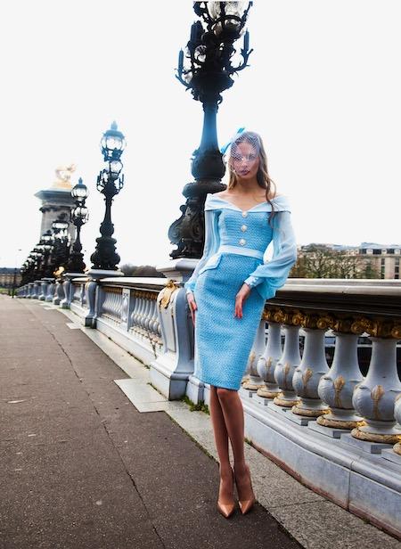 Robe de cérémonie pour mariage Paris