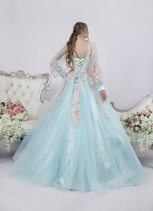 Robe de soirée princesse très volumineuse