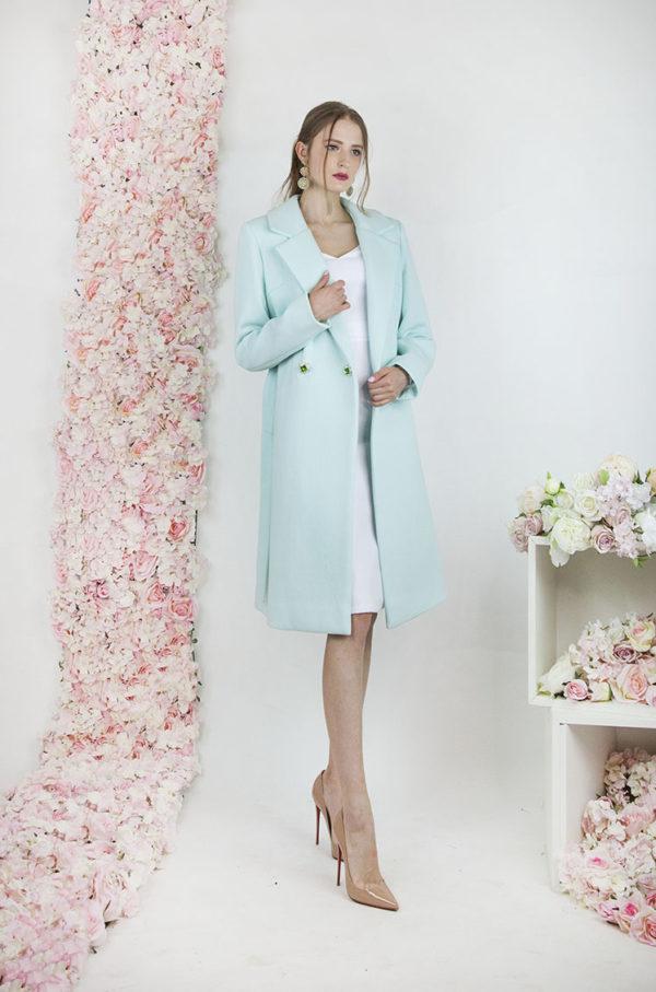 Robe de soirée avec manteau