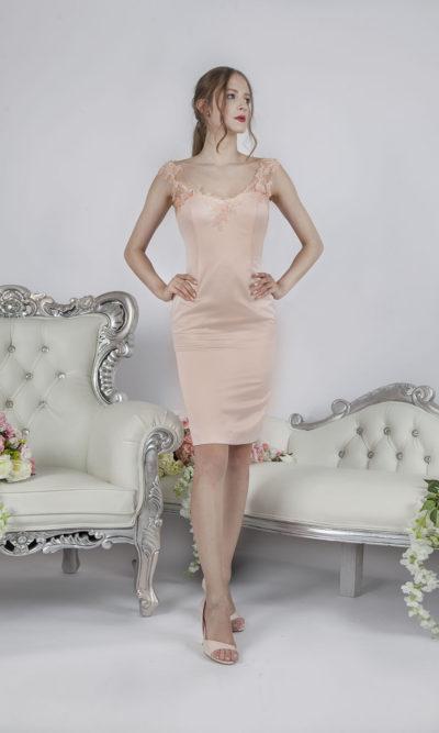 Sexy robe de soirée courte moulante