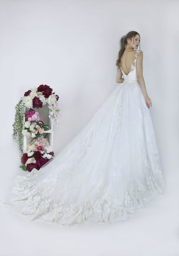 Sublime robe de mariée Paris