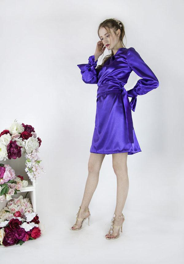 Robe de cocktail grande taille élégante