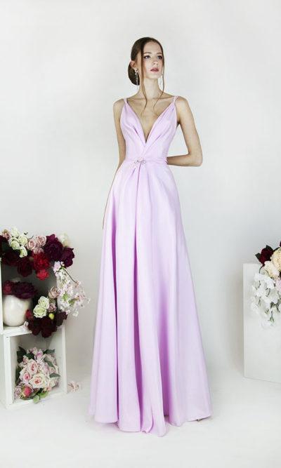 Robe de soirée pour mariage rose