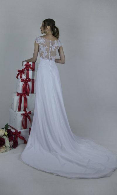 Robe de mariée fluide bohème chic Paris vente