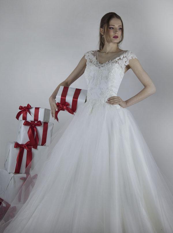 Robe de mariée princesse Paris grande taille