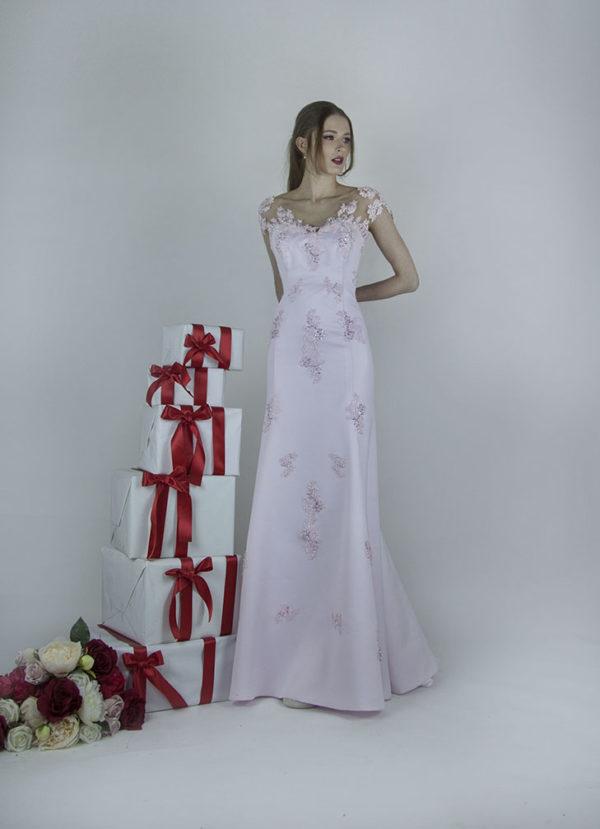 Magnifique robe de soirée pour mariage invité ou témoin à Paris
