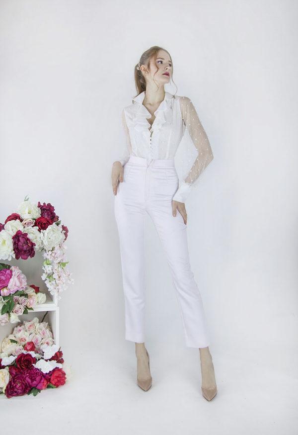 Tailleur élégant pour mariage Paris