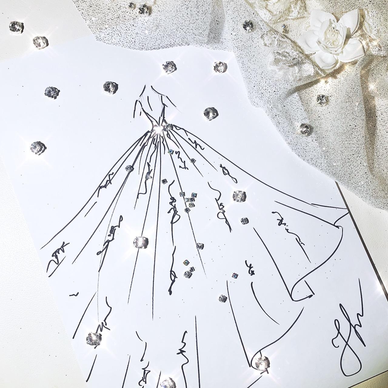 Robe de mariage créatrice à Paris princesse